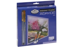 Royal and Langnickel Essentials 18 Colour Acrylic Tubes